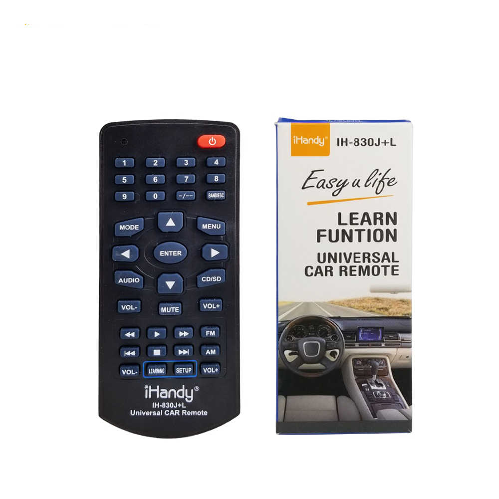 Universal Remote Control Mobil MP3 TV DVD untuk Pioneer JVC Sony Panasonic Toyota Alp Clarion Monitor Neckwood Neckwood