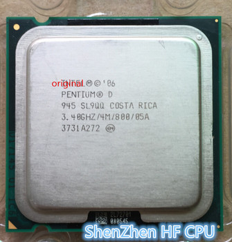 Original Intel Pentium PD945 pd 945  Processor  3.40 GHz 4M  800 MHz Desktop LGA775
