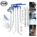 Инструменты PDR  инструменты для ремонта автомобиля  крючки  толкатели  вмятин  набор для ремонта дверей  ручные инструменты для автомобиля  н...