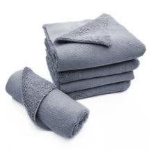 1Pcs 40*40cm 380GSM Edgeless Panno In Microfibra No Bordo Professionale Auto Detailing Asciugamano Per La Lucidatura di Lucidatura Finiture lavaggio auto