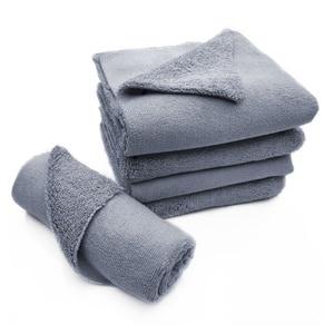 Image 1 - Paño de microfibra sin bordes para pulir, 40x40cm, 380g/m², toalla profesional sin bordes para pulir, pulir y lavar el coche, 1 ud.