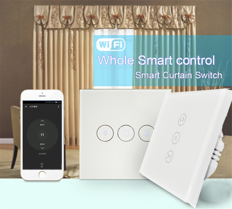 US $84 54 26% OFF|Dooya DT52S 45w Curtain Motor+Tuya app wifi Curtain  Switch,Alexa/Google Home Smart Voice Control Curtain System,Home  Automatic-in