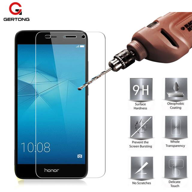 Aliexpress com : Buy GerTong 9H Tempered Protective Glass For Huawei P10  Lite P8 Plus Y6 Pro II 4A For Honor 4X 4C Enjoy 5 Toughened Screen  Protector
