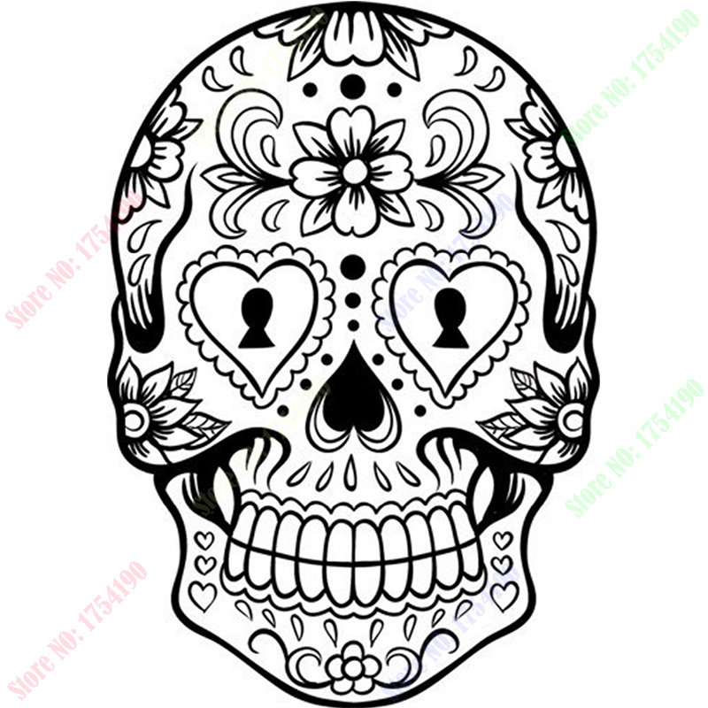 How To Draw Skull Tattoo رسم جمجمة وشم Youtube 3