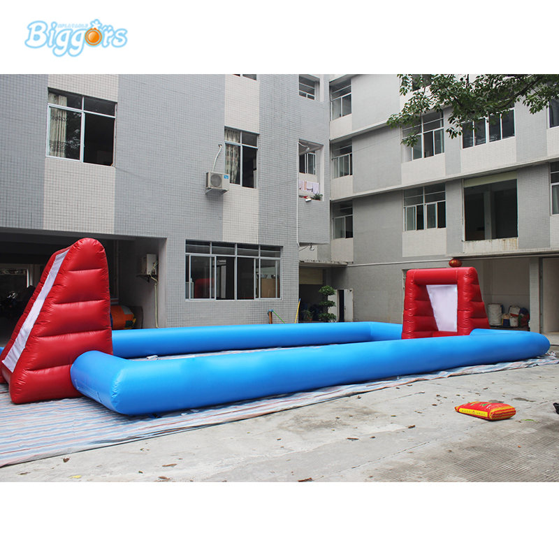 Inflatable Football Pitch Inflatable Soccer Field Soccer Court Soapy Stadium kids play game inflatable football pitch inflatable soccer field for sale