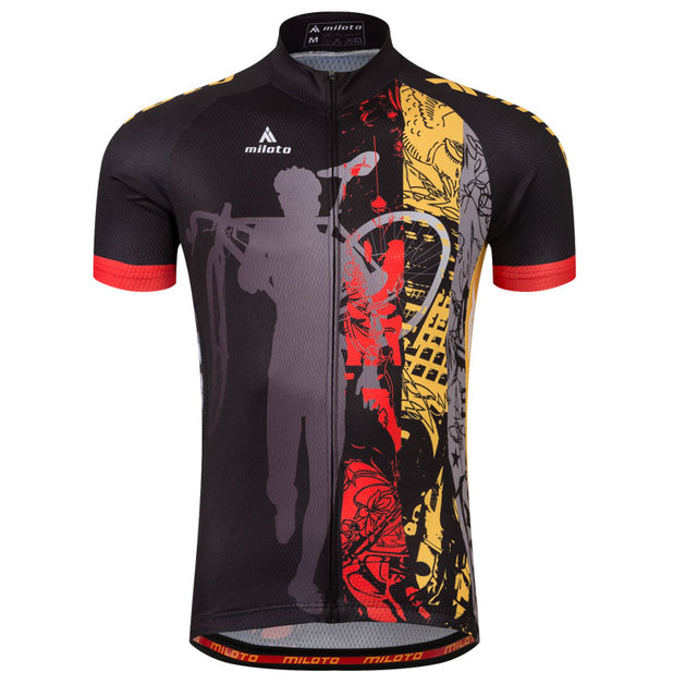 Plus Size 4xl 5xl Riding Bike Jerseys Men Cycling Shirts Bicycle