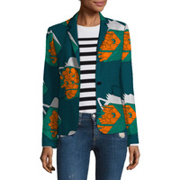 Personal Tailor African Festival Fashion Print Women Blazers Elegant Coats Tops Dashiki Casual Suit Africa Clothing