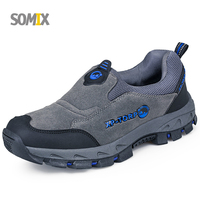 Somix Brand Winter Hiking Shoes Men Hiking Boots Non Slip Outdoor Sport Sneakers Men Wear Resisting