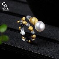 925 Sterling Silver Fashion Women Men Personality Open Finger Rings Elegant Women Lovely Girls Engagement 925 Ring Fine Jewelry