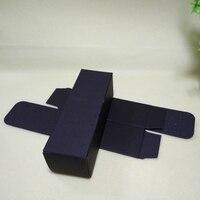 Специальный заказ 1000 шт. 48*48*124 мм черные бумажные коробочки, 1000 80*60*22 мм Черный Самолет упаковочные коробки