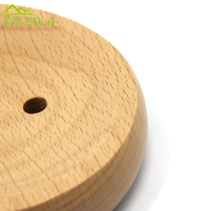 Japoniško stiliaus lengvas apvalus medinis muilo indų dėklas - Organizavimas ir saugojimas namuose - Nuotrauka 2