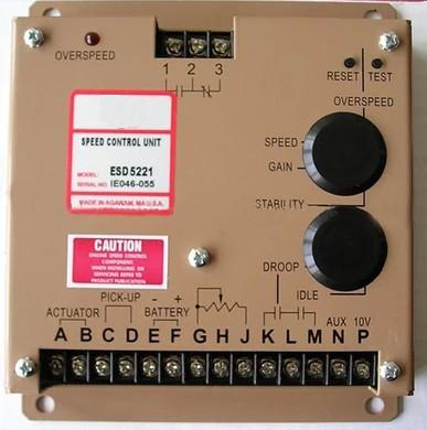 Free Shipping ESD5221 SPEED CONTROL UNIT  Generator accessories speed controller governor speed control boardFree Shipping ESD5221 SPEED CONTROL UNIT  Generator accessories speed controller governor speed control board