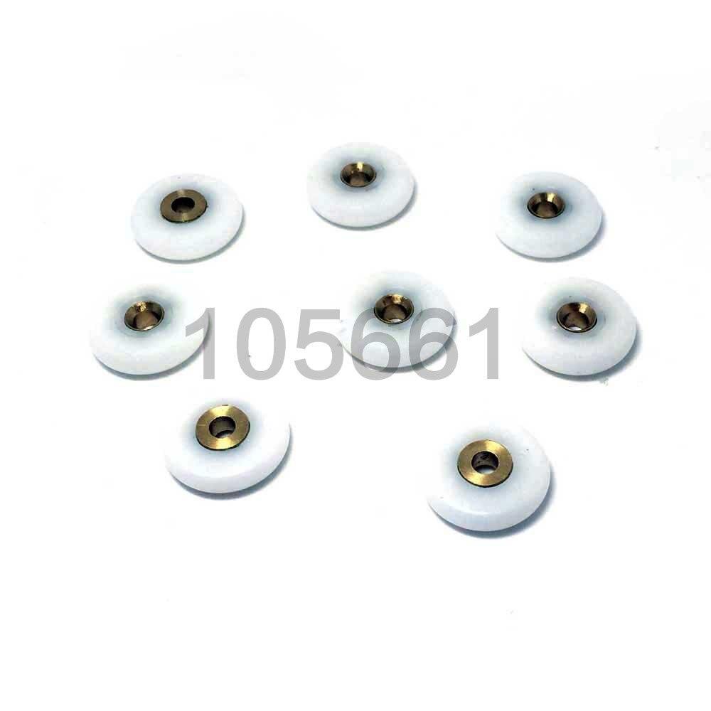 8pcs Shower Door Rollers /Runners/Wheels 22mm Or 25mm Wheel Diameter Replacement Part