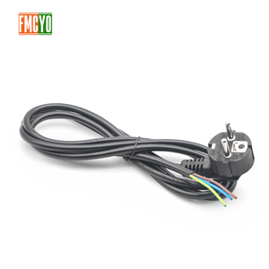 Image 3 - EU 1.8m European Standard Power Cord Bare Tail End 0.75mm2/1mm2/1.5mm2 Thick Cable For Computer/Printer/Rice Cooker