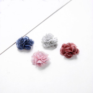 50 PCS Cloth Flowers With Stam