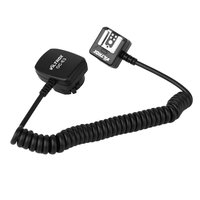 New TTL Off Camera Flash 2 HotShoe Sync Extension Cable Cord For Canon Speedlite