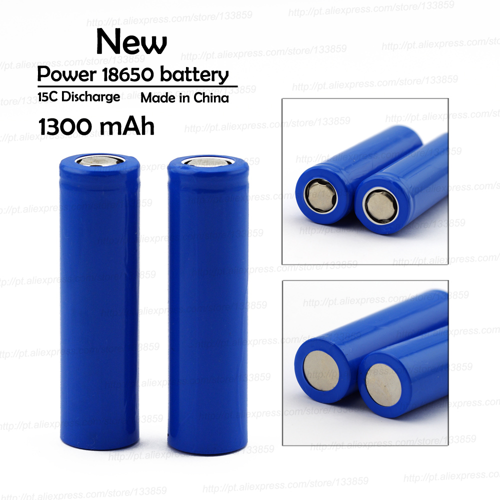 VariCore 18650 1300 MAh Lithium Battery 3.7v Rechargeable Battery  10-15C Power Batteries Manufacturer Sales