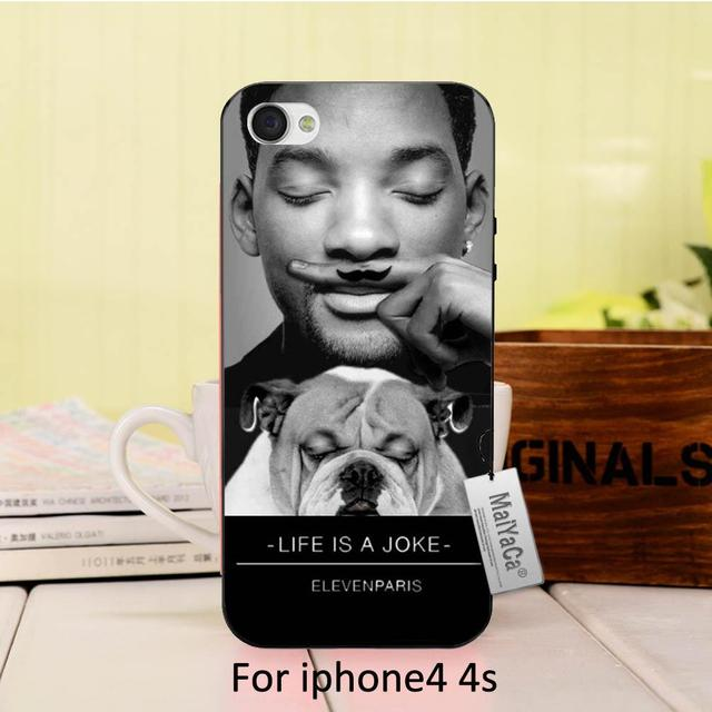 MaiYaCa Silicone case will smith coque Eleven Paris pug pour 2016 Colored Drawing  Case For iphone X XS XE 6 7plus 5 5s SE case