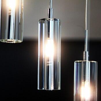 Treppen Lichter Moderne Minimalistischen Villa K9 Kristall LED Lange Anhänger Lichter Dreh Wohnzimmer Beleuchtung Anhänger Lampen SJ131