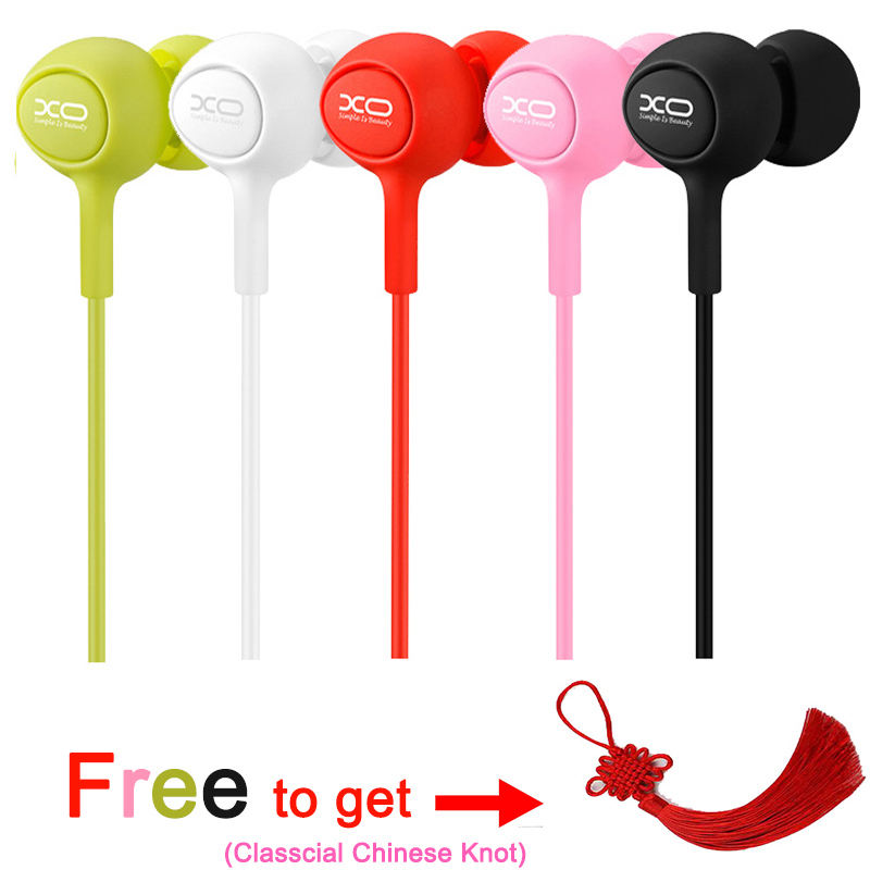 JingTider High Quality Earphone with Microphone Stereo 3.5mm Jack Wired Headphones Music Universal Earphones For Phone tablet PC