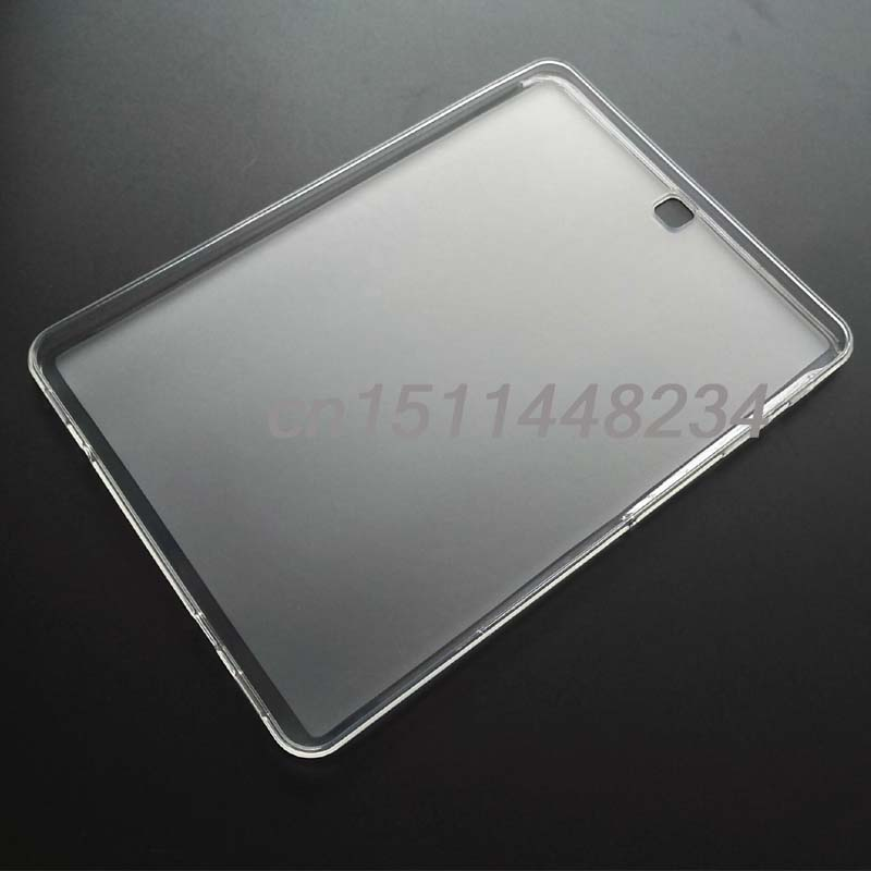 NEW! luxury slim Transparent frosted TPU silicone Case Cover For Samsung Galaxy Tab s2 9.7 T810 T815 cover tablet t700 soft tpu rubber cover semi transparent back case for samsung galaxy tab s 8 4 t700 t705c silicone case