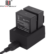 2x AHDBT-201 AHDBT-301 Camera Battery 3.7V + USB Dual Charger For Gopro Hero 3/3+ Camera Accessories with Travel Charger tracked стоимость