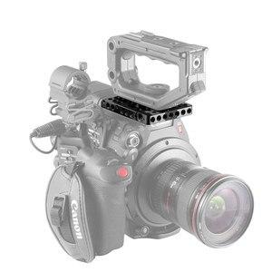 Image 4 - Piastra superiore a sgancio rapido SmallRig per impugnatura originale Canon C200/bracci magici/Kit piastra di montaggio staffa EVF 2056