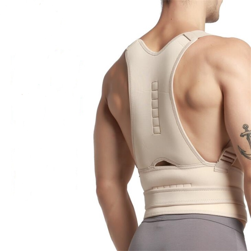 Adjustable Men/ Women Back Brace Posture Corrector Back Support Shoulder Belt