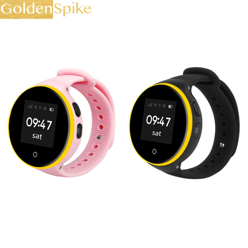 Kids Smart Watch S669 Children Wristwatch 1.22 IPS Screen GPS Tracker Monitor Baby SOS Anti Lost Reminder Phone Watch