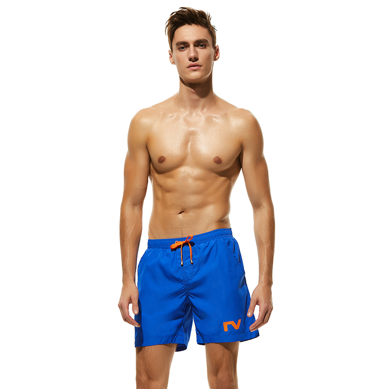 Surf Shorts Soltos Sólida Caixas S-XL Nadar