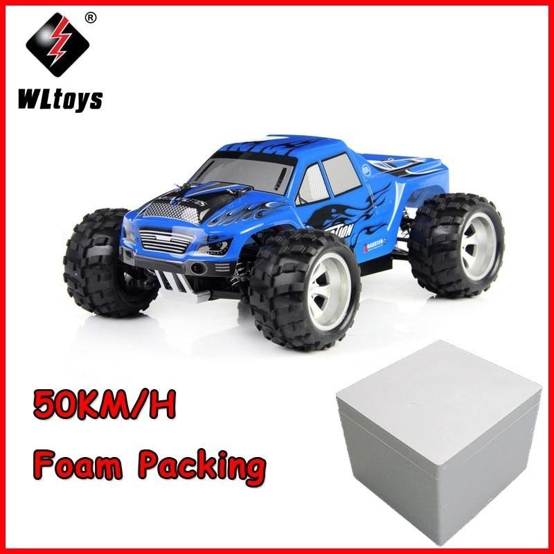 Wltoys A979 1/18 2.4 ghz 4WD Monstre Rc Voiture De Course Télécommande Voitures Voitures Téléguidées Machine RC Voiture