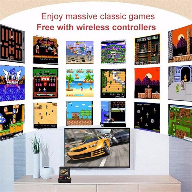 Portable Retro Mini Handheld Game Console 4.3 Inch 64bit 3000 Video Games classical Family  Game Console Gift RETRO ARCADE 08 3