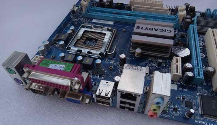 Оригинальная материнская плата для Gigabyte GA-G41M-ES2L DDR2 LGA 775 G41M-ES2L G41M S2 G31M-ES2C S2C S2L рабочего Материнская плата