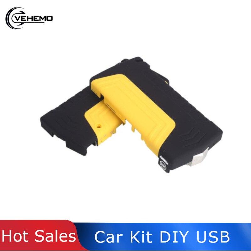 USB DIY Car Jump Starter Kit Power Bank Emergency Led Indicator Booster Jumpstarter Portable Power Supply Electronics De Coche