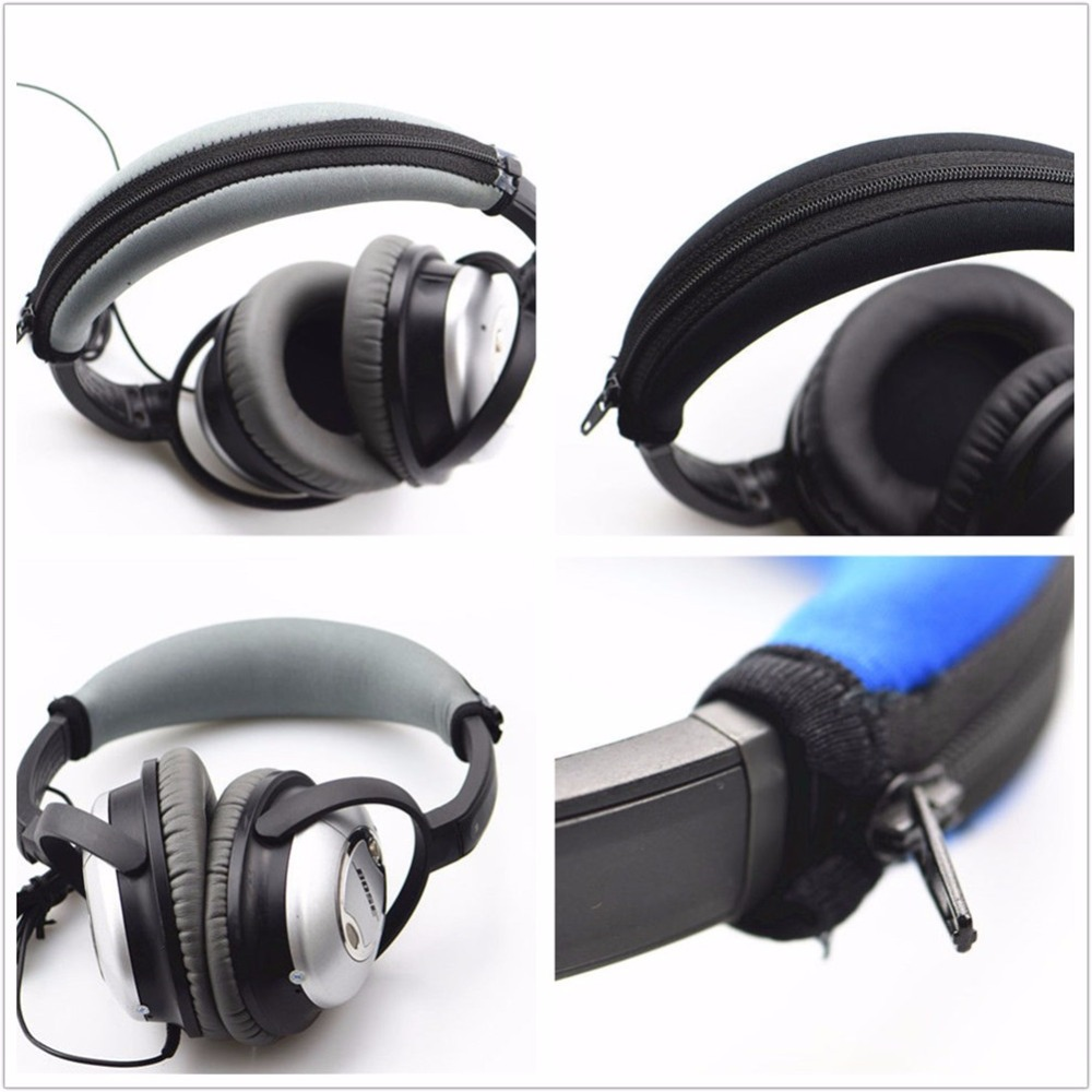 Us 4 28 5 Off Replacement Headband Cushion Pads Bumper For Qc15 Qc2 Qc35 Qc25 Headphones In Earphone Accessories From Consumer Electronics On