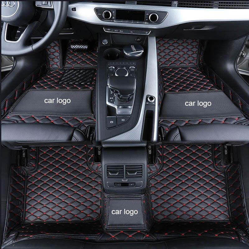 Custom Car Floor Mats For Audi A6L A3 A5 A7 Q3 Q5 Q7 A4L