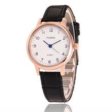 цена на Hot Sale New Women Watches Mini Small Dial Rose gold Quartz Watch Women Casual Simple Leather Business WristWatch Montre Femme