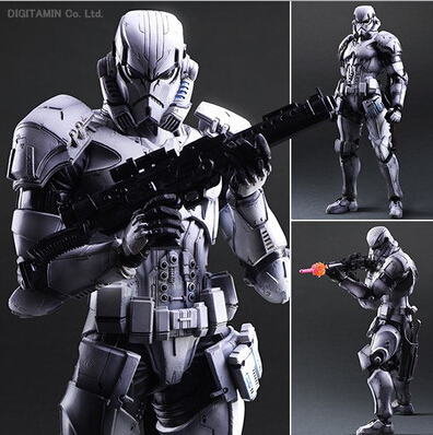 Hot ! NEW 1PCS 15cm Star Wars 7: The Force Awakens Stormtrooper Enhanced version action figure toys Christmas toy