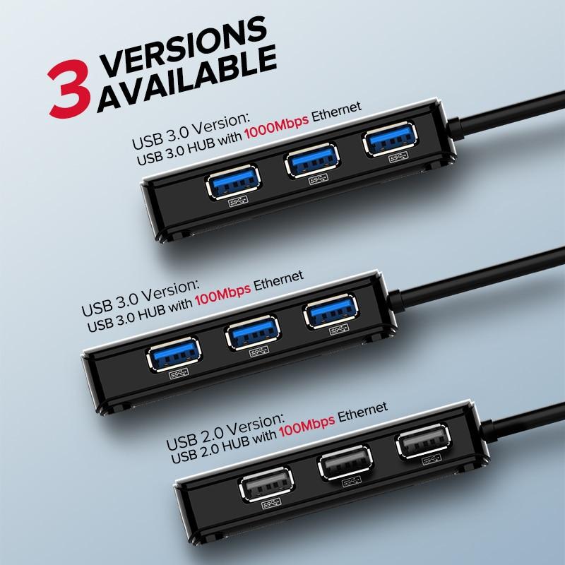 Ugreen USB Ethernet USB 3.0 2.0 naar RJ45 HUB voor Xiaomi Mi Box 3 / - Netwerkapparatuur - Foto 6