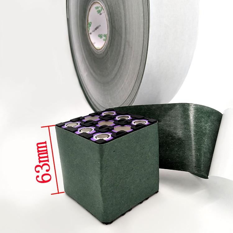 Купить с кэшбэком 18650 lithium battery pack insulation mat surface mat 14500 26500 green paper green shell paper battery DIY insulation mat