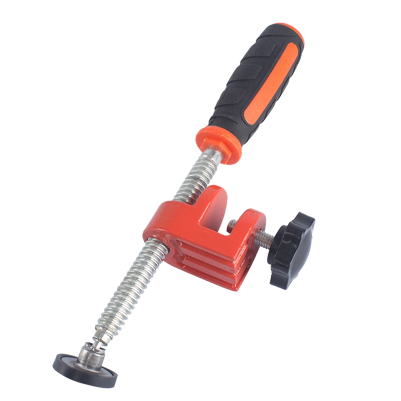 Woodworking Edge Clamp F Clamp Quick Clamp Function Expansion Auxiliary Tool Fixing Clamp Steel With Pvc Rubber Handle