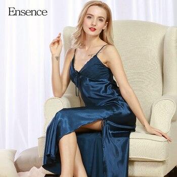 Women Lingerie Sling Long Sleepwear