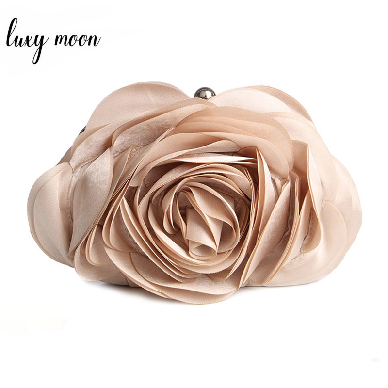 Hot Sale Evening Bag Flower Wedding Bags For Bride Purse And Handbags Wedding Party Day Clutches All Match Colorful Totes EB034