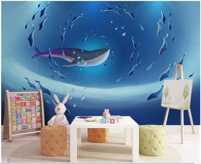 WDBH nach foto 3d tapete an der wand Ozean kinderzimmer hintergrund cartoon  wandbilder wallpaper für 3 d