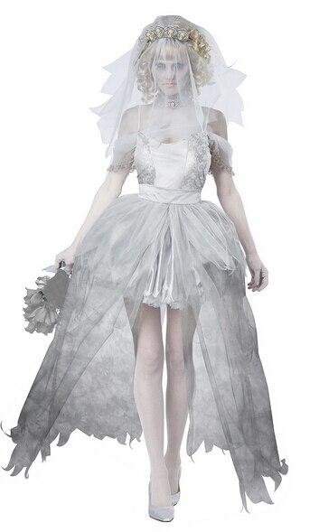 Image 4 - TPRPCO женское платье вампира зомби декадент темный призрак невесты стиль сексуальные костюмы на Хэллоуин косплей для женщин NL147-in Праздничные костюмы from Новый и особенный в использовании