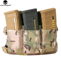 EmersonGear High speed Six Waist Magazine bag Elastic rubber mag pouches Elastic rubber Multicam EM6337