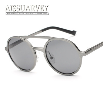 Fashion men women driving out sunglasses frame polarized mirror UV400 reflection eye wear glasses 8576 reflection