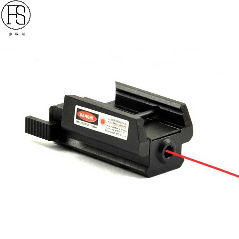 New Red Dot Laser Sight Scope 20mm Mount Rail Hunting Scope Tactical Shooting Airsoft Air Guns Red Dot Rifle Pistol Sight Laser