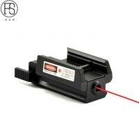 New Red Dot Sight Laser Phạm Vi 20 mét Núi Rail Hunting Phạm Vi Bắn Súng chiến thuật Airsoft Súng Không Khí Red Dot Rifle Pistol Sight Laser