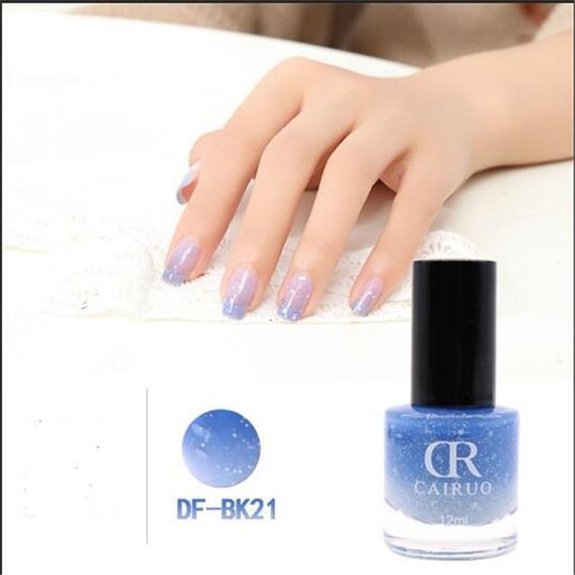 12ML Durable Healthy and Non Toxic Nailpolish Color Change Nail ...